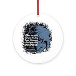 EmoJoy: Emo 001 Ornament (Round)