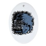 EmoJoy: Emo 001 Oval Ornament