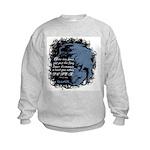 EmoJoy: Emo 001 Kids Sweatshirt