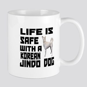 Life Is Safe With A Jindo Mug