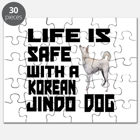 Life Is Safe With A Jindo Puzzle