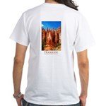 Bryce Hoodoos White T-Shirt
