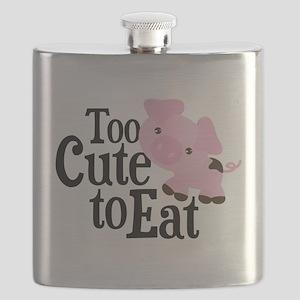 Vegan Pig Flask
