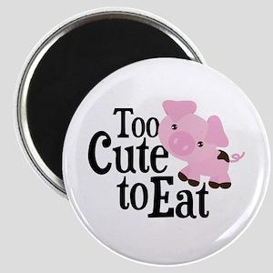 Vegan Pig Magnet
