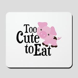 Vegan Pig Mousepad