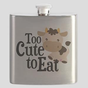 Vegan Cow Flask