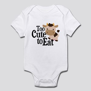 Vegan Cow Infant Bodysuit
