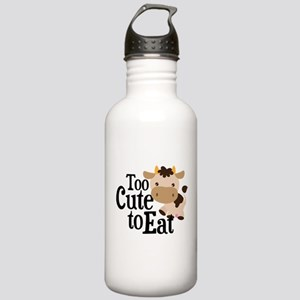 Vegan Cow Stainless Water Bottle 1.0L