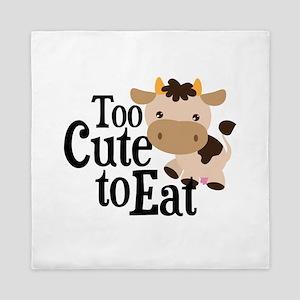 Vegan Cow Queen Duvet
