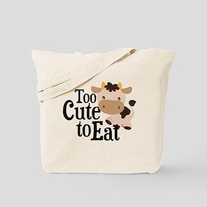 Vegan Cow Tote Bag