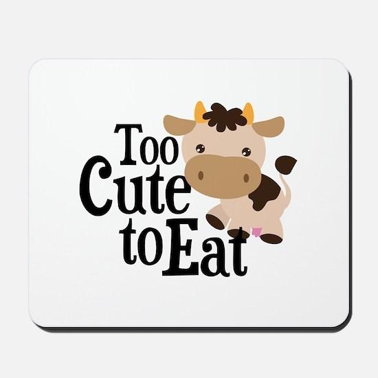 Vegan Cow Mousepad