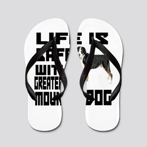 Life Is Safe With A Greater Swiss Mount Flip Flops