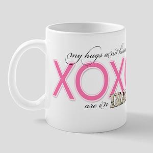 My XOXO's are in Iraq Mug