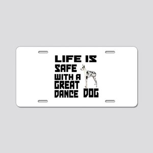 Life Is Safe With A Great D Aluminum License Plate