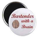 Bartender With Brain Magnet