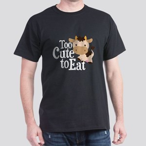 Vegan Cow Dark T-Shirt