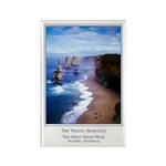 The Twelve Apostles Rectangle Magnet (10 pack)