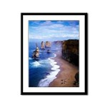 The Twelve Apostles Framed Panel Print