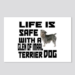 Life Is Safe With A Glen Postcards (Package of 8)