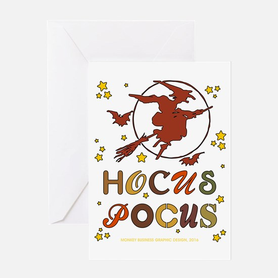HOCUS POCUS Greeting Cards