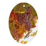 """2007 ORNAMENT TITLED: """"WINE COUNTRY HARVEST&q"""