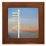 Winery Directional Sign - Livemore Wine Country