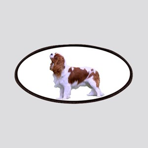 Blenheim Cavalier King Charles Spaniel Patch