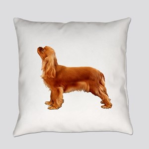 Ruby Cavalier King Charles Spaniel Everyday Pillow