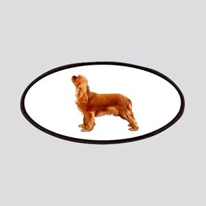 Ruby Cavalier King Charles Spaniel Patch
