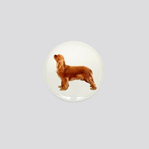 Ruby Cavalier King Charles Spaniel Mini Button