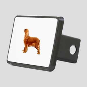 Ruby Cavalier King Charles Rectangular Hitch Cover