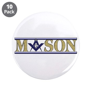 "Masons 3.5"" Button (10 pack)"