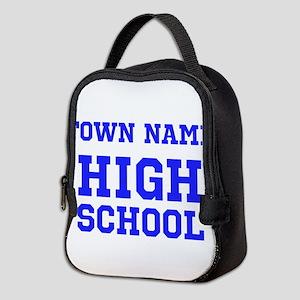 High School Neoprene Lunch Bag