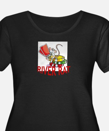 River Rat Plus Size T-Shirt