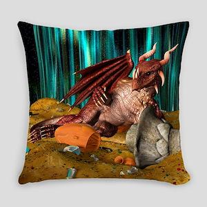 Dragon Treasure Everyday Pillow