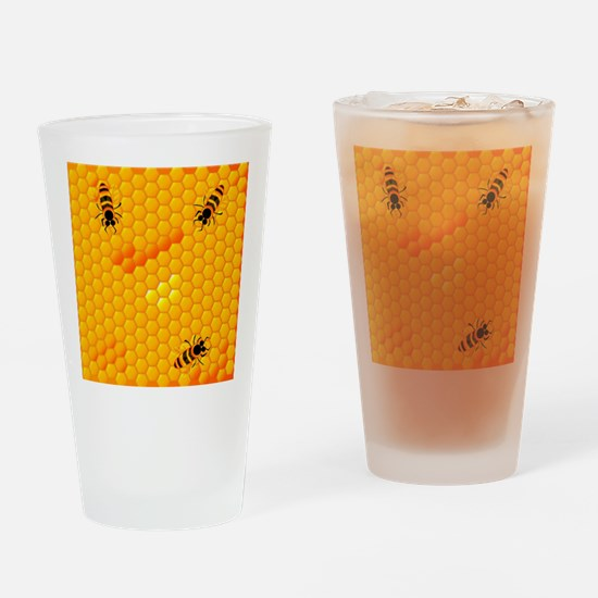 Cute Animal cell Drinking Glass