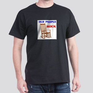 OLD FOLKS ROCK Dark T-Shirt