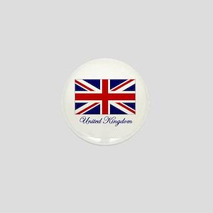 UK Flag Mini Button