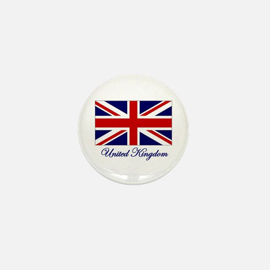 UK Flag Mini Button