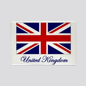UK Flag Rectangle Magnet