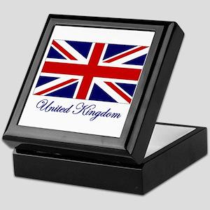 UK Flag Keepsake Box