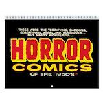 Horror Comics Of 1950s 2018 12-Month Wall Calendar