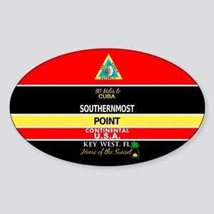 Southernmost Point Buoy Key West Sticker