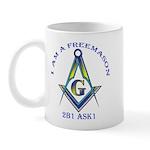 I am a Freemason Mug