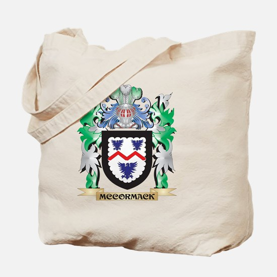 Mccormack Coat of Arms - Family Crest Tote Bag