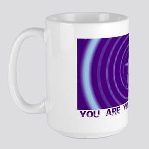 You Are Your Vibration Large Mug
