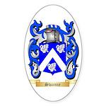 Swanne Sticker (Oval 10 pk)