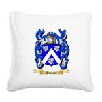Swanne Square Canvas Pillow