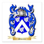 Swann Square Car Magnet 3