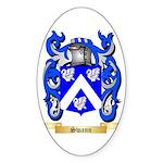 Swann Sticker (Oval 10 pk)